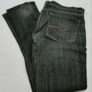 7 For All Mankind Womens Size 31 Roxy Jeans Black
